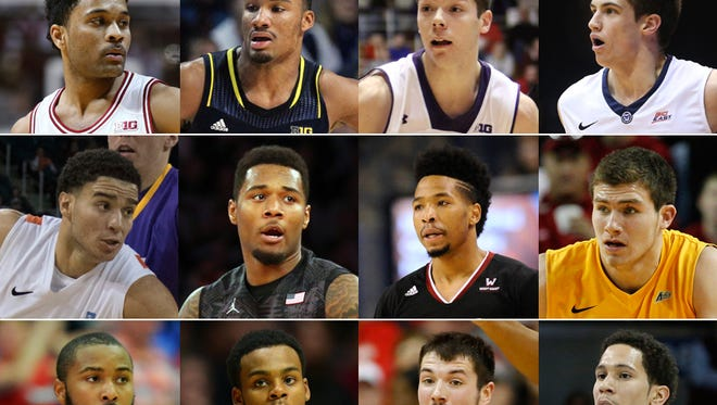 Twelve of the 13 Indiana products who lead their respective college teams in scoring.