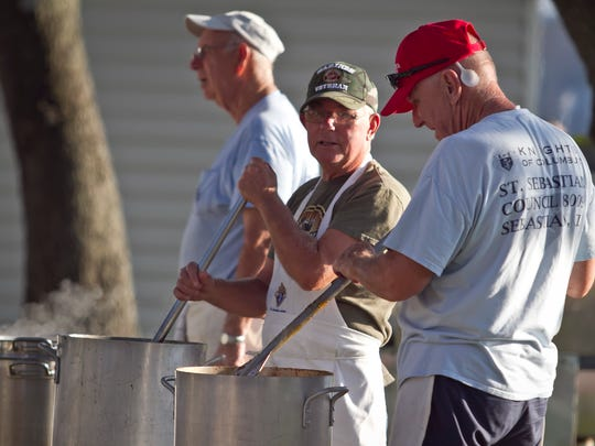 The Clambake Foundation members' council approved 2017 program grants for seven organizations that applied including SOS Cookies; Sebastian River High School's Chum Bucket program; The Prasad food program; the River Fund; United Methodist Church's Music Camp; the Ecumenical Food Pantry; and the GFWC Sebastian Jr. Woman's Club's Science Camp.