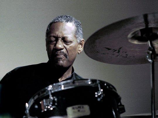 Drummer Victor Lewis sits in  with Ray Vega and The VT/NY Collective at FlynnSpace on Friday.