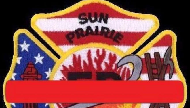 Sun Prairie Fire Department badge.