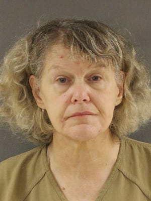Dr. Deborah Gayle Thomas is shown in a mug shot after pleading guilty to federal drug charges.
