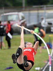 Shelby's Jaimie Blunt is a state qualifier in the pole