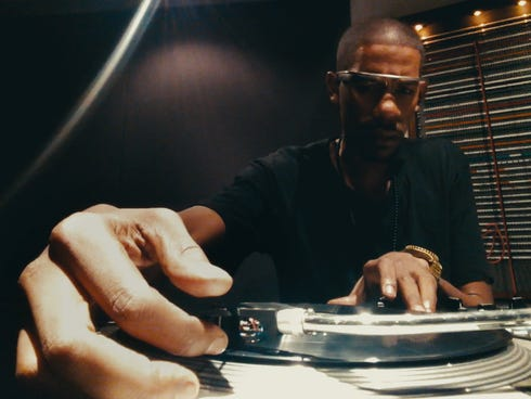 DJ and USC artist-in-residence Young Guru makes music with Google's Glass wearable technology