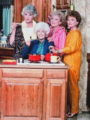 """The Golden Girls "" cast (from left): Bea Arthur, Estelle Getty, Betty White and Rue McClanahan. the show ran on NBC from 1985-'92."
