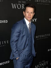Mark Wahlberg attends the premiere of Sony Pictures