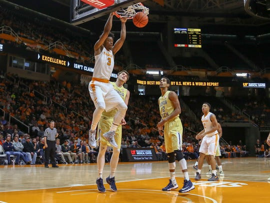 North Carolina's visit highlights Tennessee Vols' nonconference basketball schedule