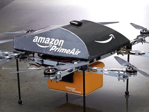 Amazon tests drone delivery through a program called PrimeAir