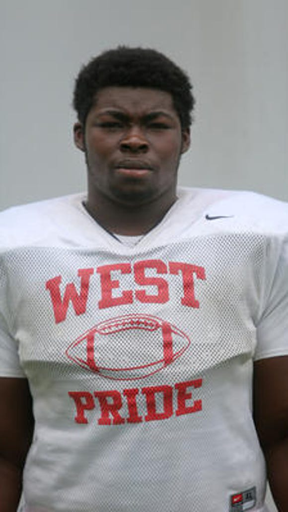 Lakota West OL George Asafo-Adjei is in California this week for the Semper Fidelis All-American Bowl.