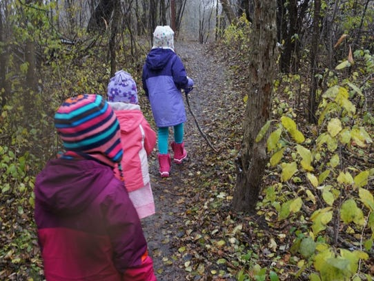 A cold weather hike along the Menomonee River Parkway