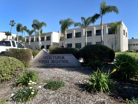 School is in session at Ventura High, one of many schools