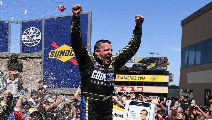 2016 NASCAR Sprint Cup race winners