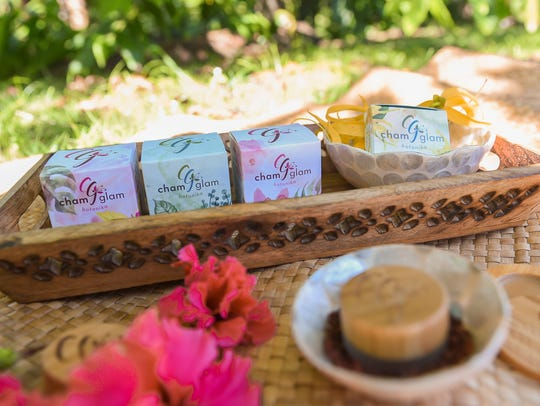 ChamGlam Botanika natural beauty products in Yona on