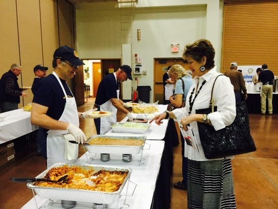 All money raised at the Rotary Club's Enchilada and