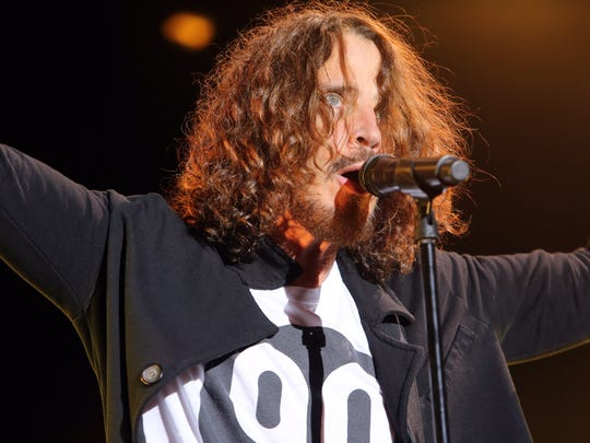 Chris Cornell of Soundgarden performs April 30, 2017, at the Fort Rock Music Festival in Fort Myers, Florida.