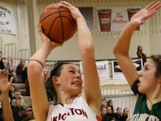 Minus Girls Basketball Player of the Year, Cori Crocker, and the rest of last season's starters, the Brighton basketball team still won against Linden on Wednesday in its season opener.