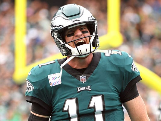 USP NFL: ARIZONA CARDINALS AT PHILADELPHIA EAGLES S FBN PHI ARI USA PA