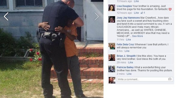 An officer's friendship with a 13-year-old in need has made the rounds on social media for the last week. But the story remains powerful.