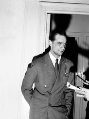 Howard R. Hughes, millionaire, sportsman pilot, and