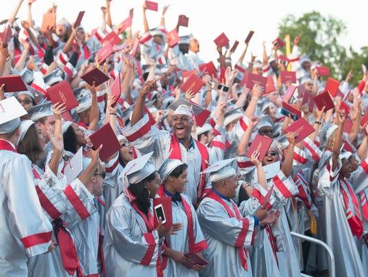 Vineland High School graduation