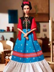 La Barbie que representa a Frida Kahlo.