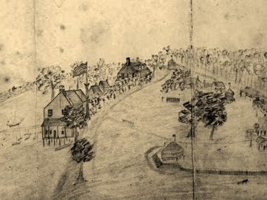 An old map of Fort Myers