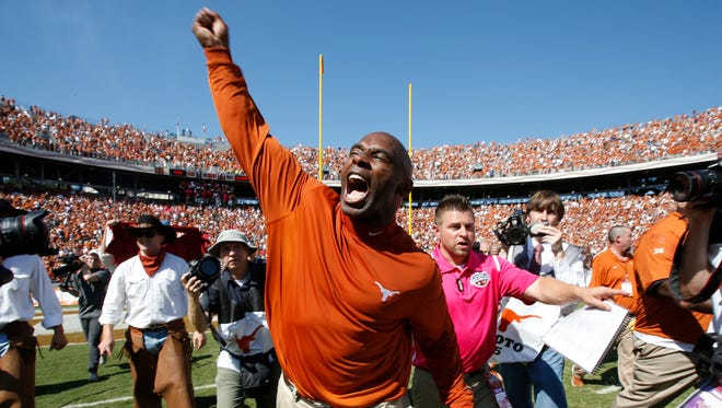 Charlie Strong earned his biggest win as Texas' coach on Saturday.