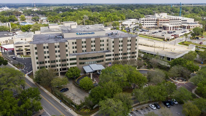AdventHealth Ocala, left, and Ocala Regional Medical Center, right, shown in this March file photo, both say they are in good shape amid the recent surge in COVID-19 cases.