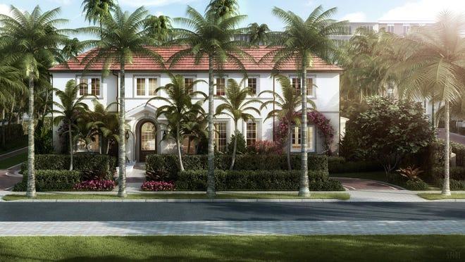 A never-lived-in house developed on speculation by Frisbie Group at 101 Gulfstream Road near Midtown Beach just changed hands for a recorded $13.525 million.