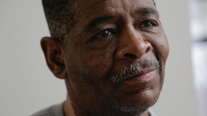 James Robertson, 56, of Detroit has moved with the help of police.