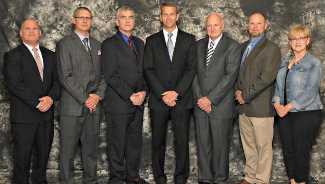 Rob Barringer, Matt Greenwalt, Earl Johnson, Owen Allphin, Al Morton, Rick Porter, Anne Coleman.