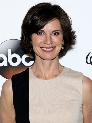 Elizabeth Vargas attends A Celebration of Barbara Walters Cocktail Reception on May 14, 2014 in New York.