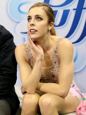 """Ashley Wagner says she had """"a hard time getting peace with"""" not making the Olympic team."""