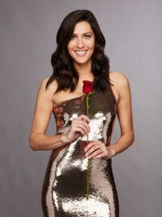 "Becca Kufrin, the ""Bachelorette"" for Season 14 of ABC's"