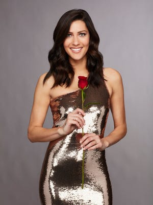 "Becca Kufrin, the ""Bachelorette"" for Season 14 of ABC's dating show, says she's engaged."