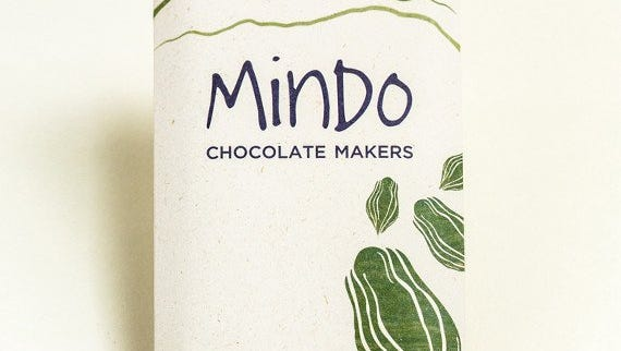 Chocolate by Mindo Chocolate Makers.
