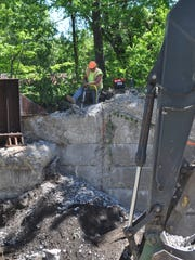 Construction closed the portion of Pine Tree Road connecting Cornell University to the East Hill Plaza, between Route 366 and Maple Avenue in the Town of Ithaca, to all traffic at 7 a.m. Monday.