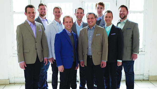 Male vocal ensemble Cantus will perform 7:30 p.m. Thursday at St. Mary's Catholic Church.