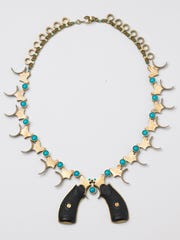 Squash Blossom Necklace by LeeAnn Herreid from the exhibit IMAGINE Peace Now.