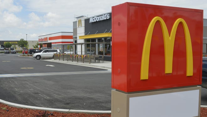 White Water Plaza in Earlimart includes McDonald's, AutoZone and Dollar General.