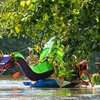 Whatever floats your boat: Asheville prepares for Anything That Floats parade