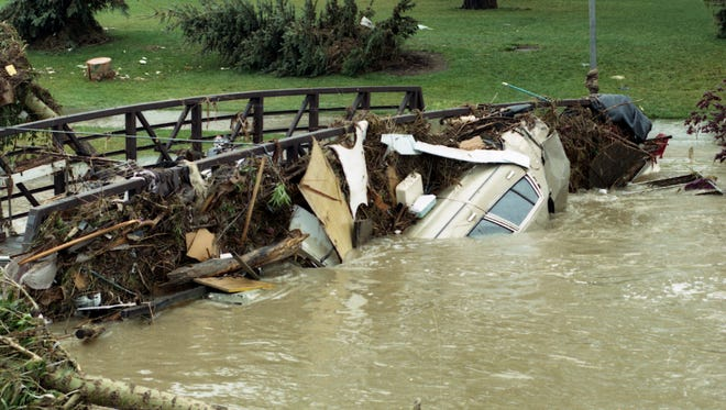 The Spring Creek Flood will hit its 20th anniversary July 28.