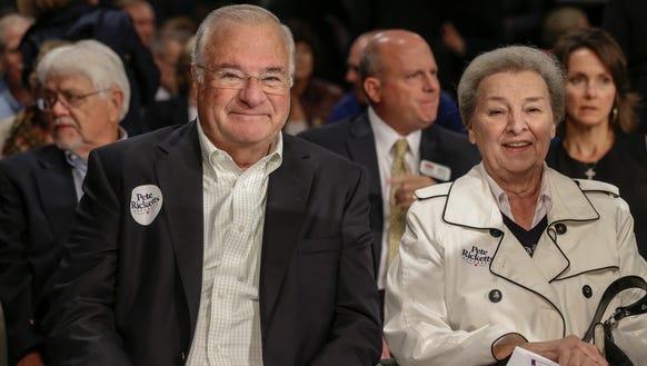 Joe and Marlene Ricketts. She donated $3 million to