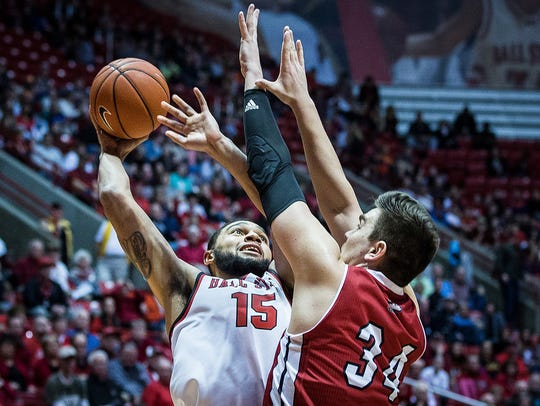 Ball State's Franko House shoots past Northern Illinois'