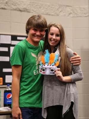Harrison Craig and Jacquelyn Popp were paired at the matching party.