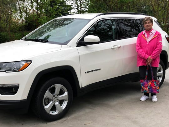Marilyn Brown received a new Jeep lease after she and