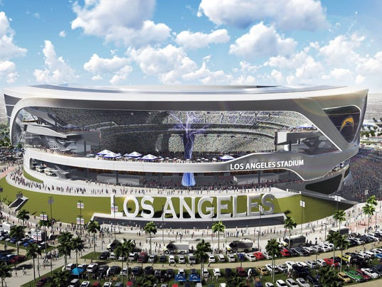 Nfl Stadium Near Los Angeles A Step Closer To Reality