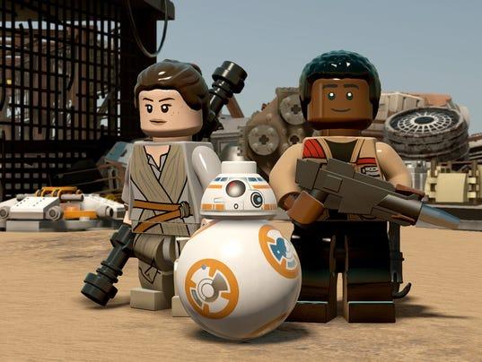LEGO Rey Finn