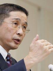 Nissan Motor Co. Chief Executive Hiroto Saikawa in 2017.