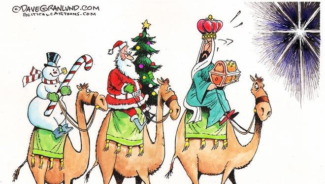 Secular vs non-secular Christmas