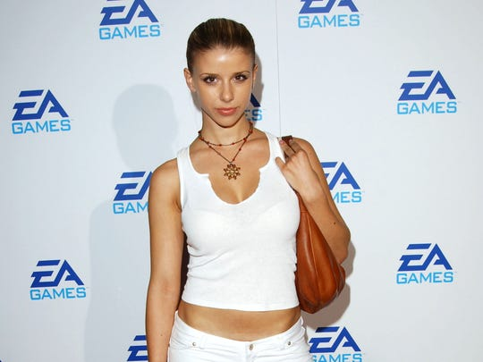 Melissa Schuman, who has accused Nick Carter of rape,
